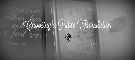 choosing-a-bible-translation
