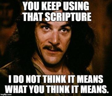 misused scripture